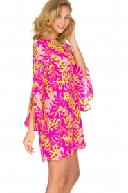 Alice & Trixie |  Dress Hailee with cheerful flower print | Pink  | Picture 4