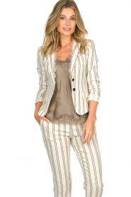 Patrizia Pepe | Blazer Angelina | natural  | Picture 2