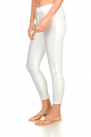 Patrizia Pepe |  Strass pants Liona | white  | Picture 4