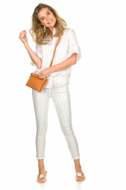 Patrizia Pepe |  Strass pants Liona | white  | Picture 2
