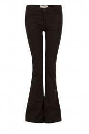 Aaiko | Flared jeans Riff| zwart  | Afbeelding 1