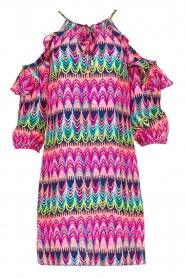 Alice & Trixie | 100% zijden jurk Cece | Roze  | Afbeelding 1