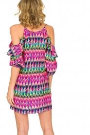Alice & Trixie | 100% zijden jurk Cece | Roze  | Afbeelding 5