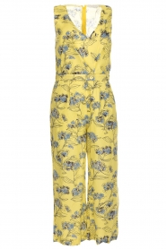 Patrizia Pepe |  Printed jumpsuit Donna | yellow  | Picture 1