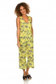 Patrizia Pepe |  Printed jumpsuit Donna | yellow  | Picture 2