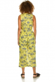 Patrizia Pepe |  Printed jumpsuit Donna | yellow  | Picture 4