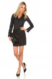 Patrizia Pepe |  Skirt Leonora | black  | Picture 3