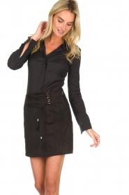 Patrizia Pepe |  Skirt Leonora | black  | Picture 2