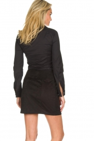 Patrizia Pepe |  Skirt Leonora | black  | Picture 5