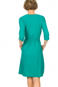 D-ETOILES CASIOPE |  Wrap dress Nois | sea green  | Picture 5