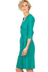 D-ETOILES CASIOPE |  Wrap dress Nois | sea green  | Picture 4