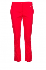 Patrizia Pepe | Pants Angelina | red  | Picture 1