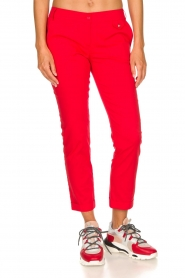 Patrizia Pepe | Pants Angelina | red  | Picture 3