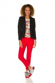 Patrizia Pepe | Pants Angelina | red  | Picture 2