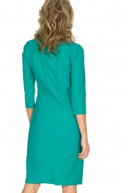D-ETOILES CASIOPE |  Stretch dress Nadeleine | sea green  | Picture 5
