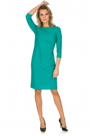 D-ETOILES CASIOPE |  Stretch dress Nadeleine | sea green  | Picture 3