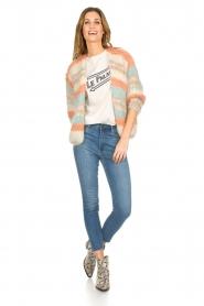 Les tricots d'o | Wollen vest Haley | naturel   | Afbeelding 3