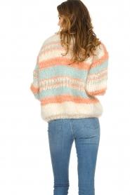 Les tricots d'o | Wollen vest Haley | naturel   | Afbeelding 5