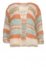 Les tricots d'o | Wollen vest Haley | naturel   | Afbeelding 1