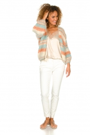 Les tricots d'o |  Wool cardigan Haley | natural  | Picture 3