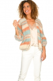 Les tricots d'o |  Wool cardigan Haley | natural  | Picture 2