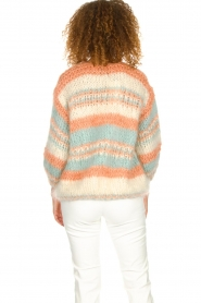 Les tricots d'o |  Wool cardigan Haley | natural  | Picture 5