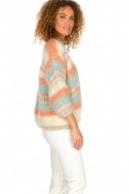 Les tricots d'o |  Wool cardigan Haley | natural  | Picture 4