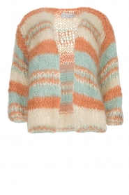Les tricots d'o |  Wool cardigan Haley | natural  | Picture 1
