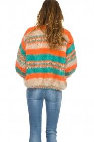 Les tricots d'o | Wollen vest Haley | camel  | Afbeelding 6