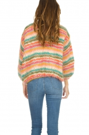 Les tricots d'o |  Wool cardigan Lene | multi  | Picture 5