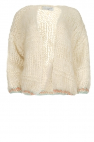 Wool cardigan Ilvy | white