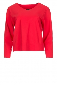 D-ETOILES CASIOPE | Stretch top Nazette | rood  | Afbeelding 1