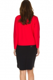 D-ETOILES CASIOPE | Stretch top Nazette | rood  | Afbeelding 5
