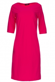 D-ETOILES CASIOPE |  Wrinkle free stretch dress Coco | pink  | Picture 1