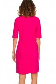 D-ETOILES CASIOPE |  Wrinkle free stretch dress Coco | pink  | Picture 5