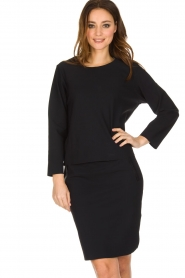 D-ETOILES CASIOPE |  Stretch skirt Noble | black  | Picture 2