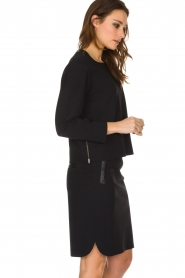 D-ETOILES CASIOPE |  Stretch skirt Noble | black  | Picture 3