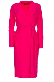 D-ETOILES CASIOPE |  Wrinkle free stretch dress Rien | pink  | Picture 1