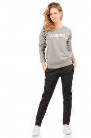 Amatør | Logo sweater Amator | grijs  | Afbeelding 3