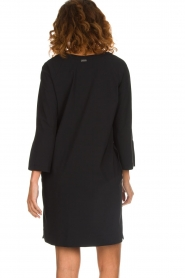 D-ETOILES CASIOPE |  Wrinkle free stretch dress Riche | black  | Picture 6