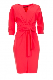 D-ETOILES CASIOPE |  Wrinkle free stretch dress Rock | pink  | Picture 1