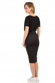 Pencil skirt Jiggs | black