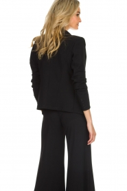 D-ETOILES CASIOPE |  Wrinkle free stretch blazer Ruby | black  | Picture 5