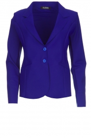 D-ETOILES CASIOPE |  Wrinkle free stretch blazer Ruby | purple