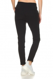 D-ETOILES CASIOPE |  Wrinkle free stretch trousers Rover | black  | Picture 5