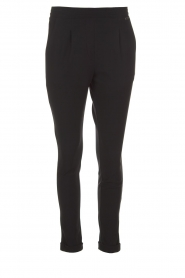 D-ETOILES CASIOPE |  Wrinkle free stretch trousers Rover | black  | Picture 1