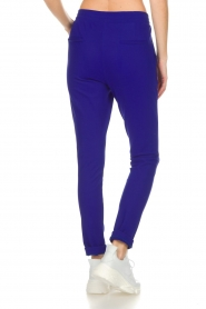 D-ETOILES CASIOPE |  Wrinkle free stretch trousers Rover | purple  | Picture 5