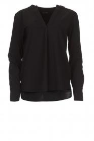 D-ETOILES CASIOPE |  Wrinkle free stretch top Regine | black  | Picture 1