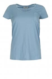 Hunkydory | T-shirt Elaisy | blauw  | Afbeelding 1