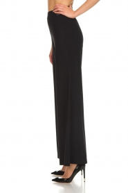 D-ETOILES CASIOPE |  Wrinkle free flare trousers Regarder | black  | Picture 4
